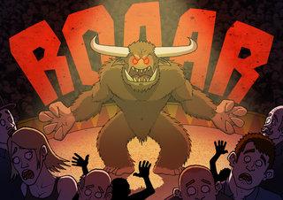 Le monstre terrifiant