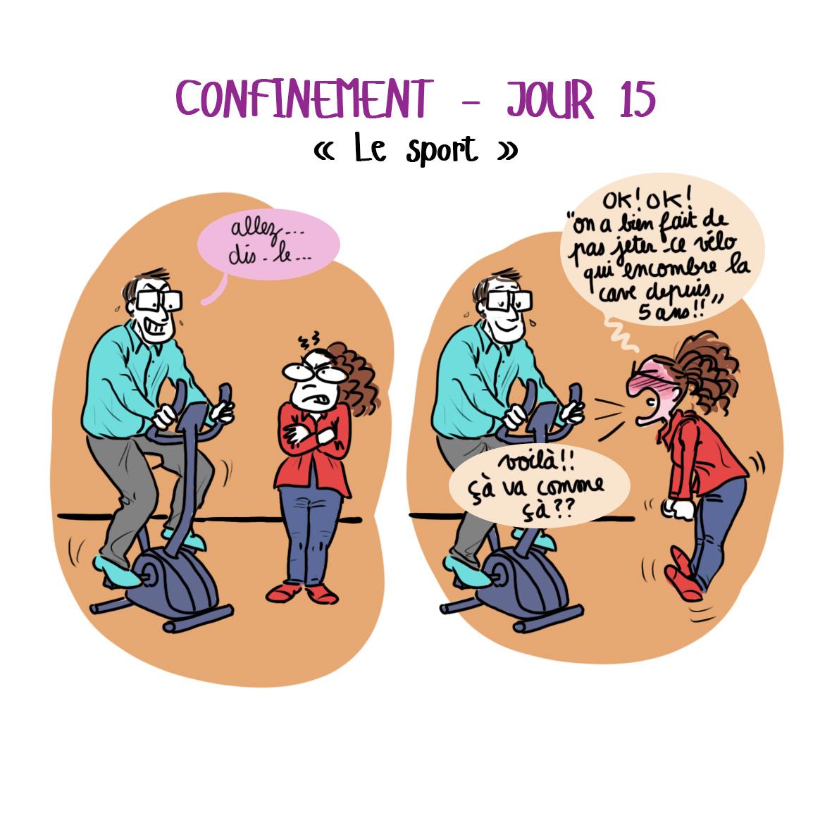 Journal de confinement - jour 15
