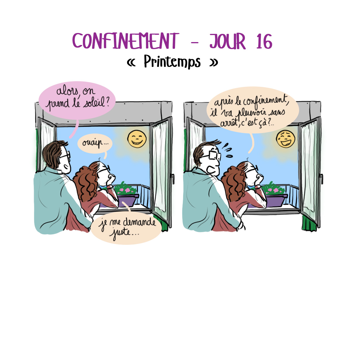 Journal de confinement - jour 16