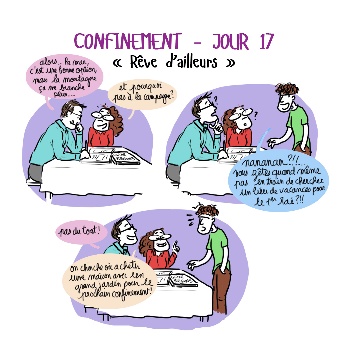 Journal de confinement - jour 17