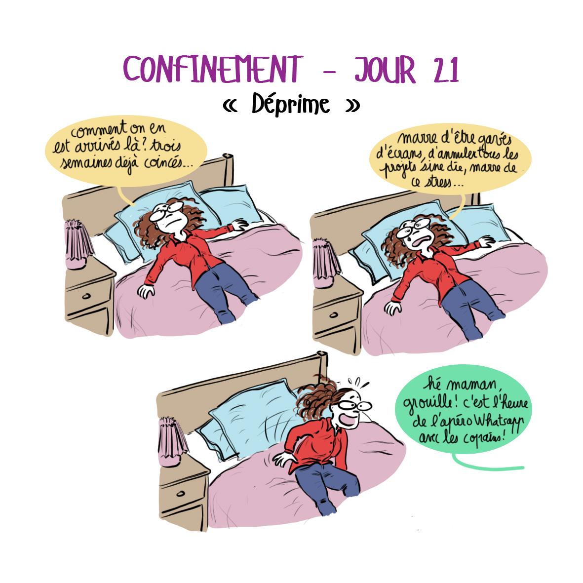 Journal de confinement - jour 21