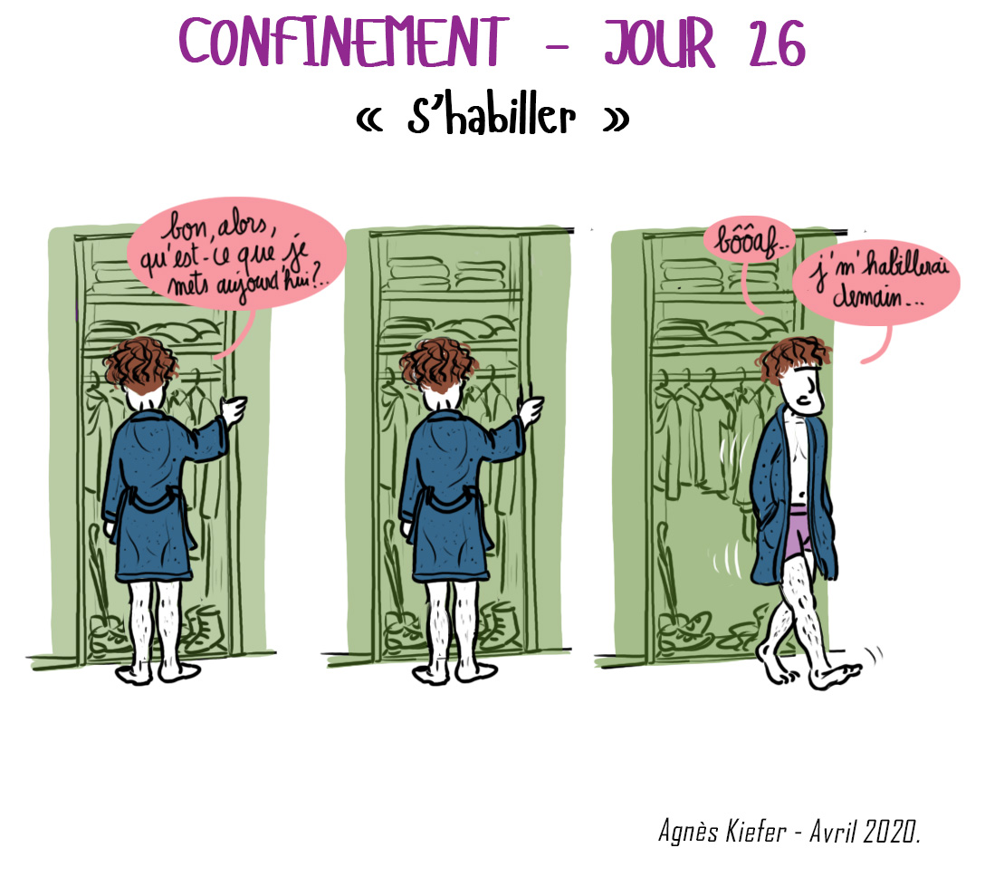 Journal de confinement - jour 26