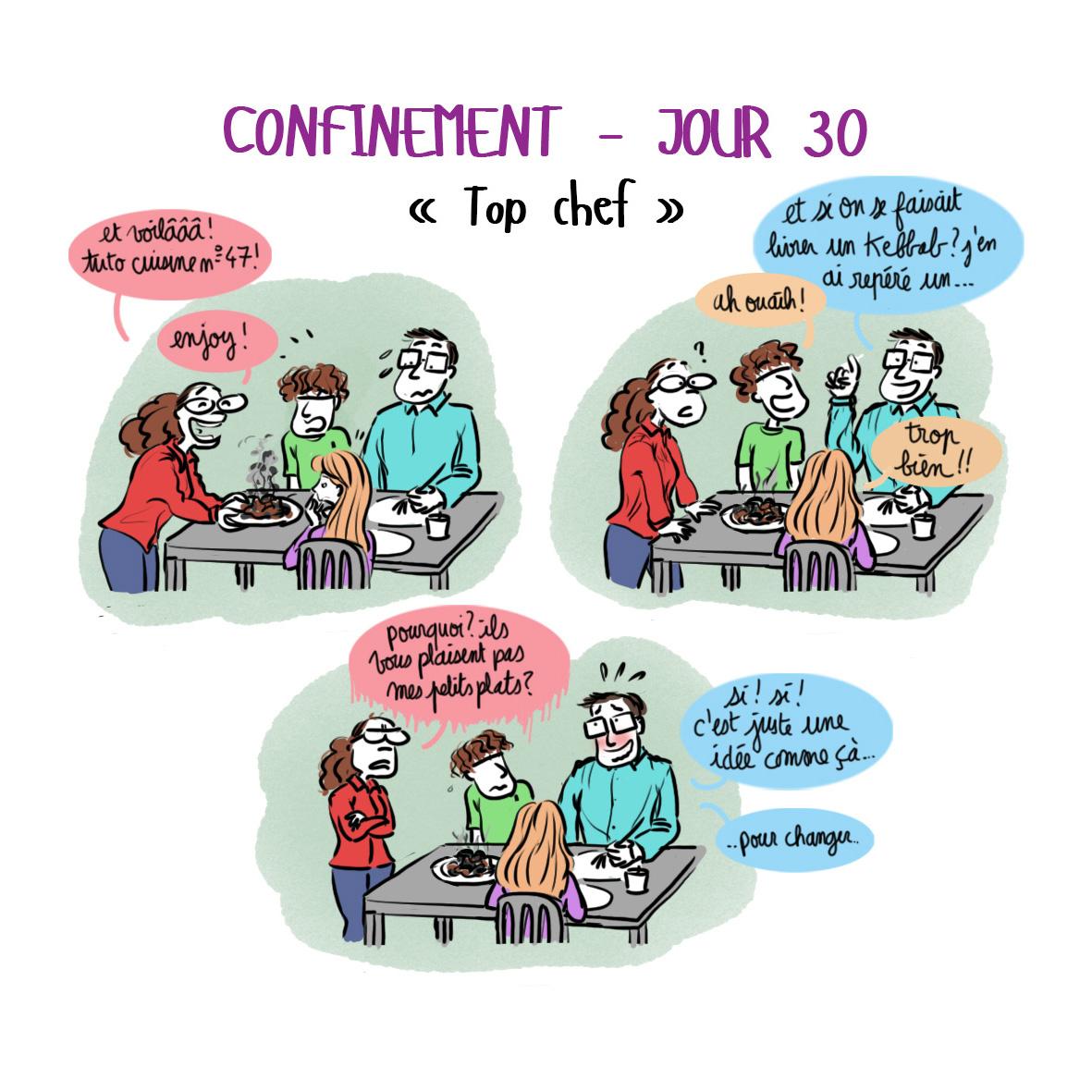 Journal de confinement - jour 30