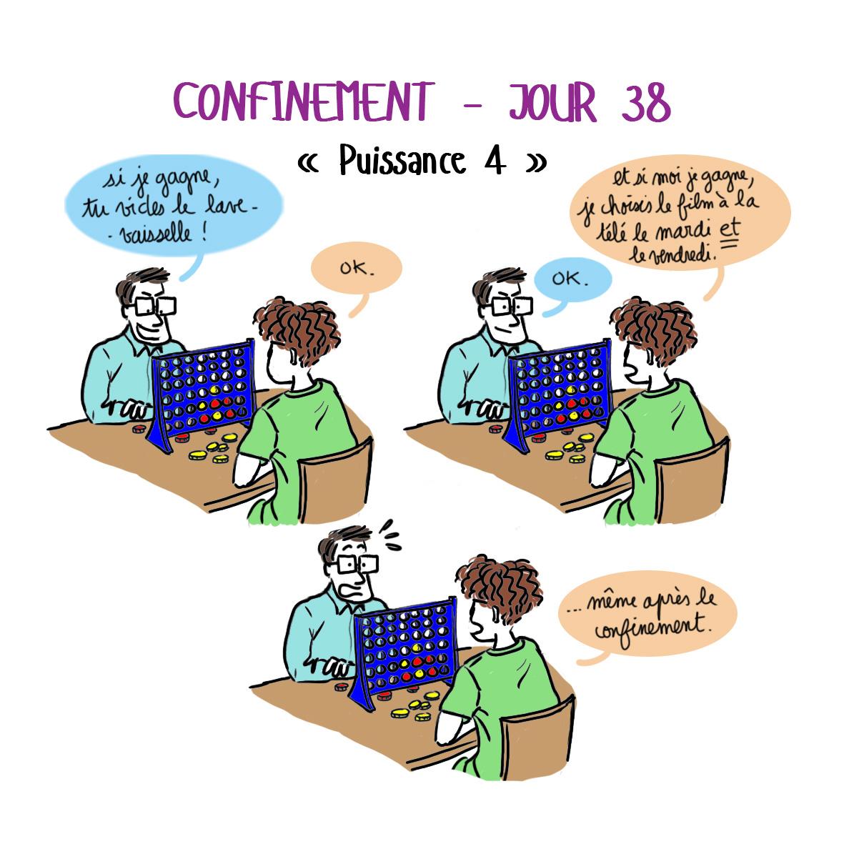 Journal de confinement - jour 38