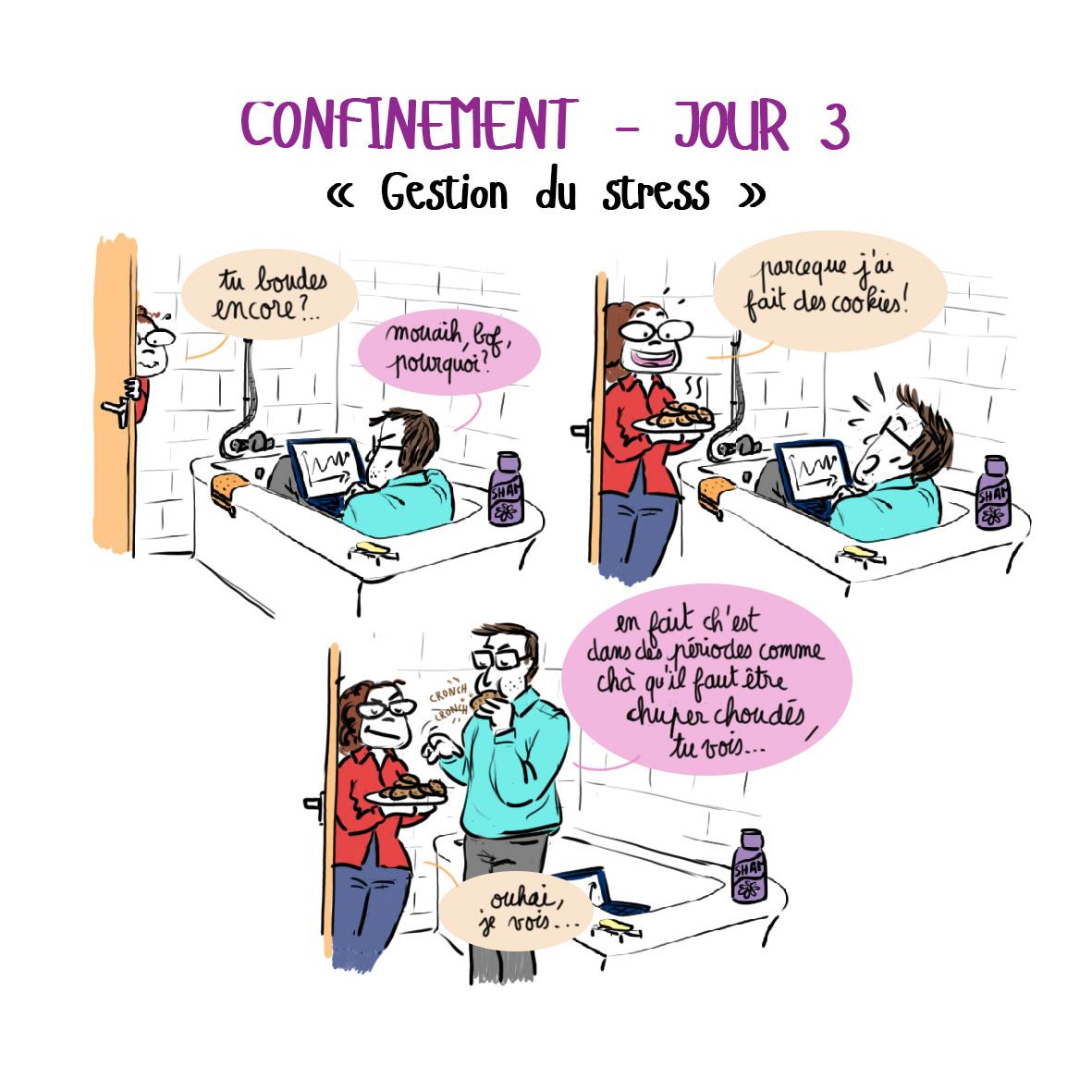 Journal de confinement - jour 3 bis