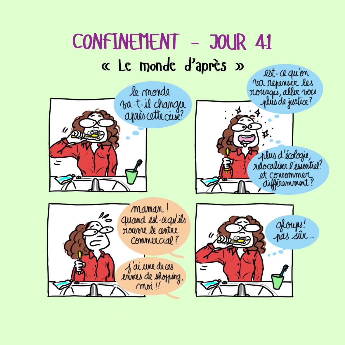 Journal de confinement - jour 41