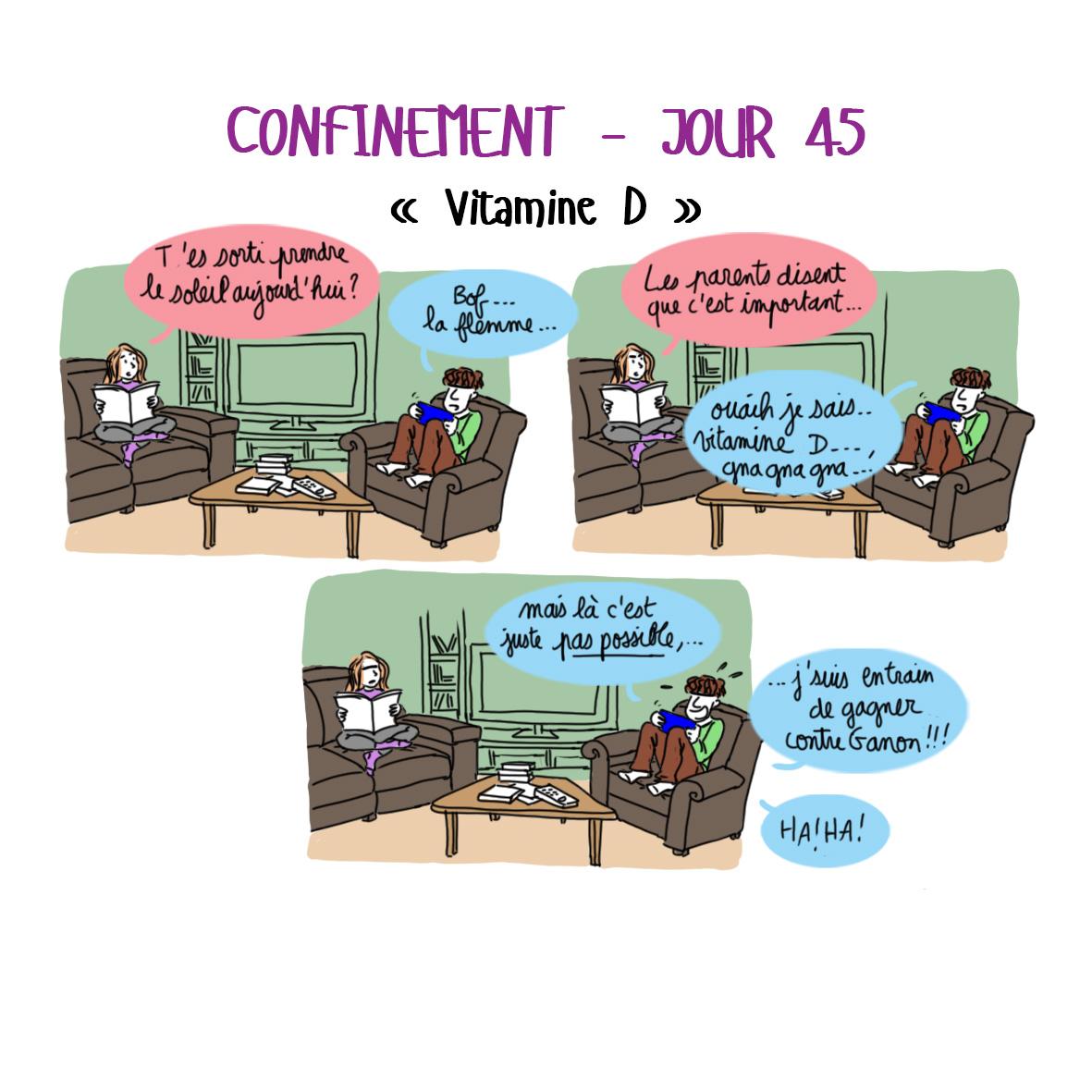Journal de confinement - jour 45