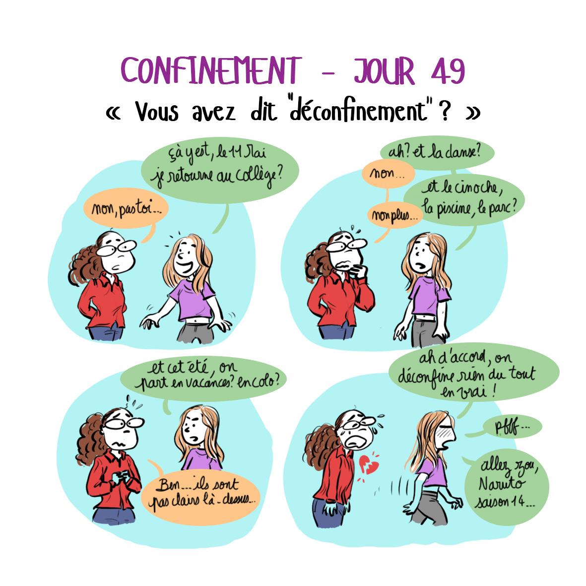 Journal de confinement - Jour 49