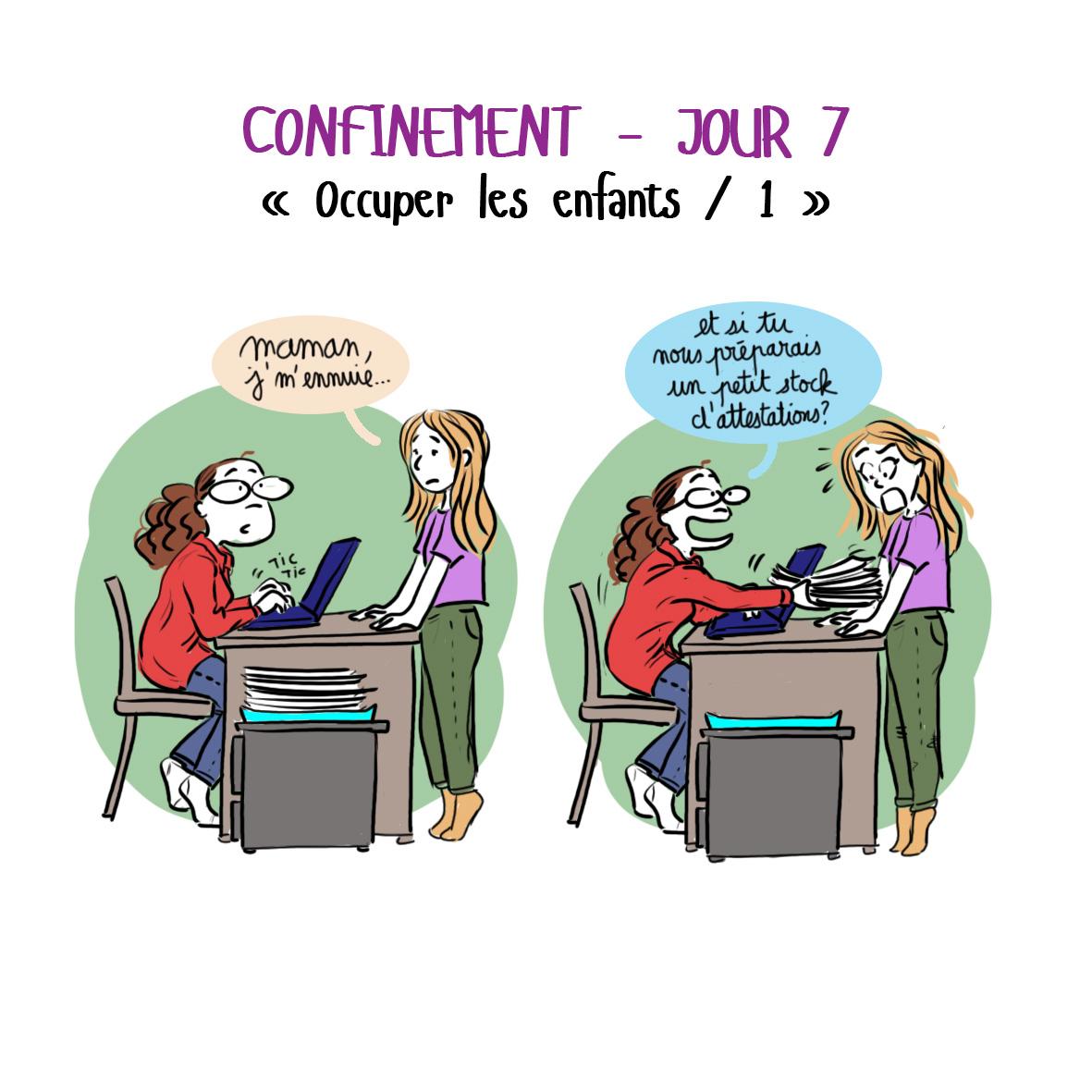 Journal de confinement - jour 7