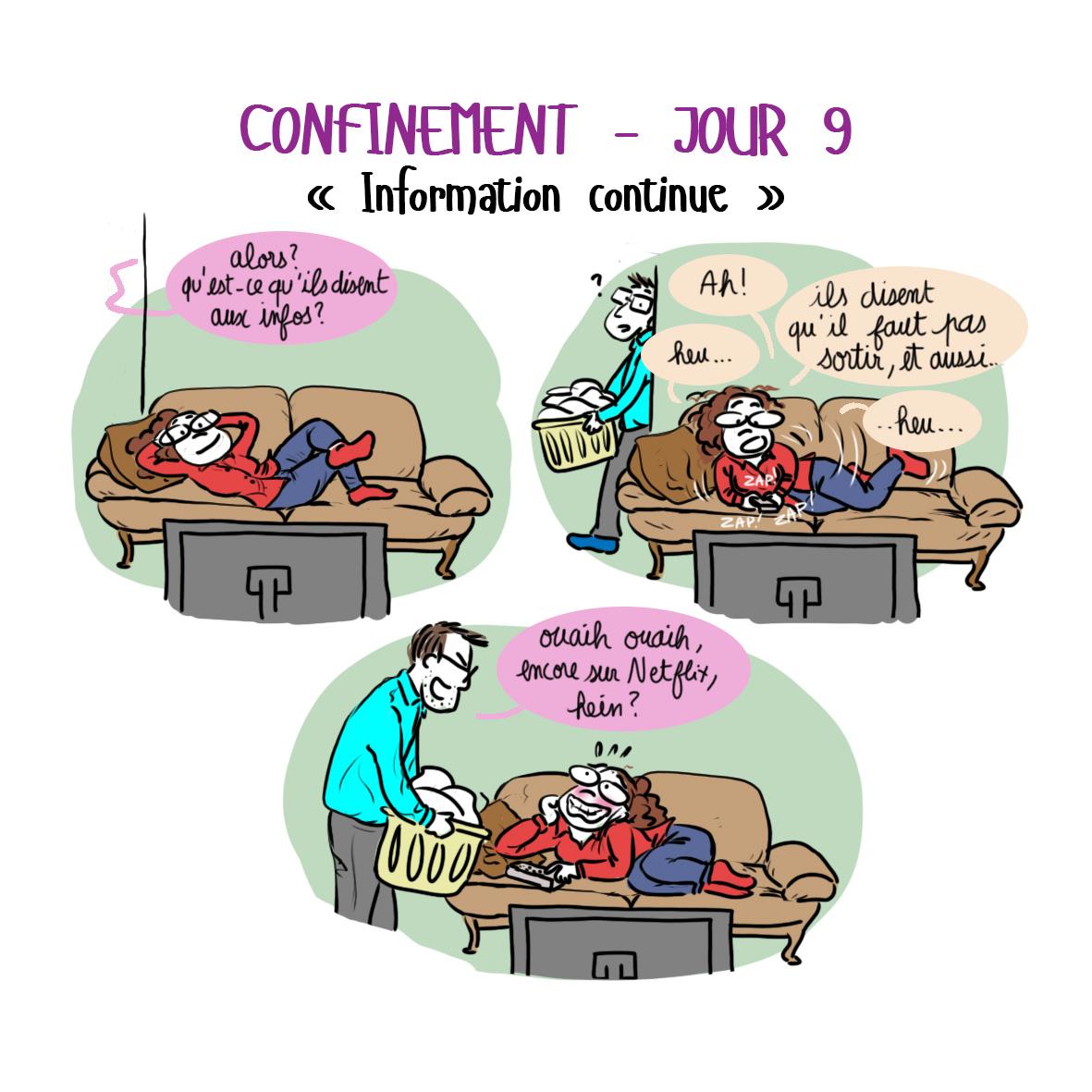 Journal de confinement - jour 9