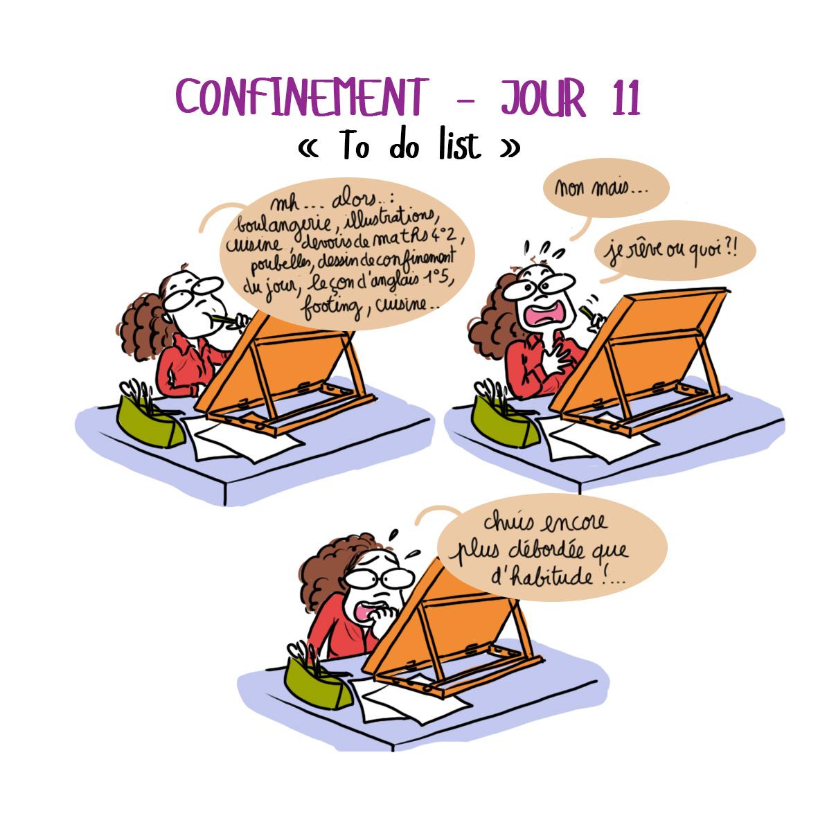 Journal de confinement - jour 11