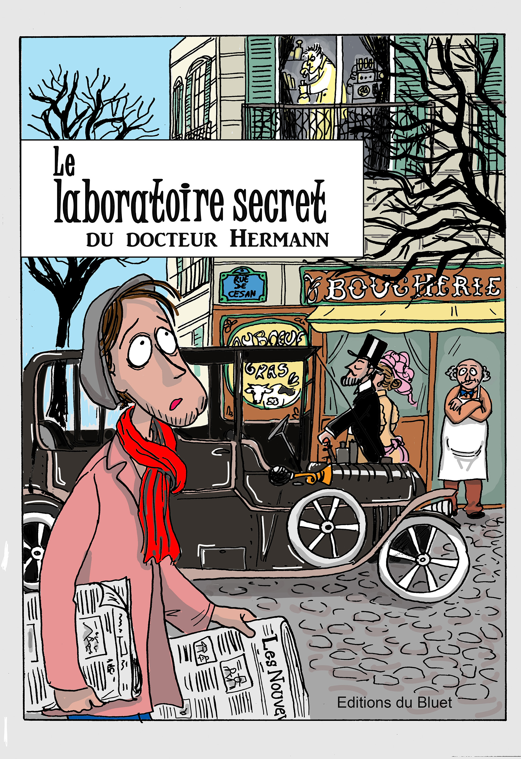 """Début du XXème siècle - """"Le laboratoire secret"""""""