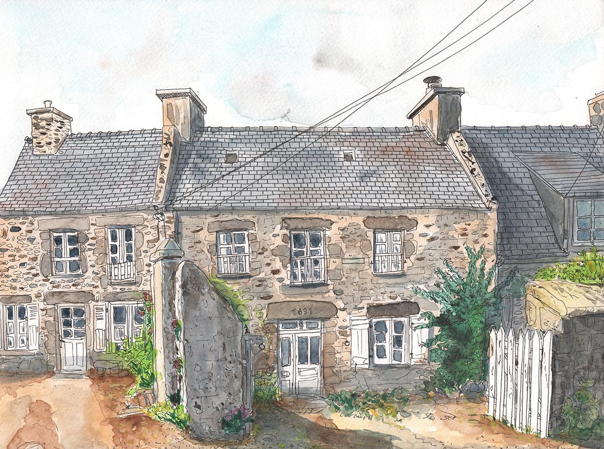 Une maison à Lancieux
