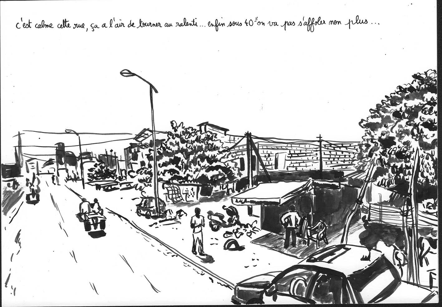 Voyage imaginaire à Dakar 1