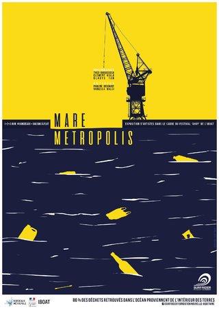 Surfrider Foundation Europe - Mare Metropolis 2018 - Branding and Illustration