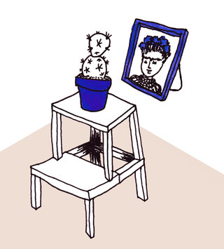Frida's step stool