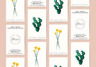 Fleur qui roule - Branding Design and Watercolor