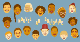 Nouvel An Solidaire 2020 - Branding Design and Illustration