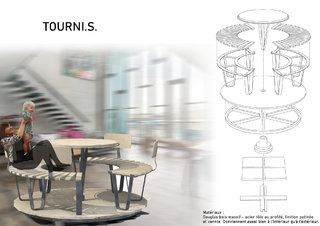 TOURNI.S. mobilier ludique et convivial / TOURNI.S. Fun and friendly furniture 1/2
