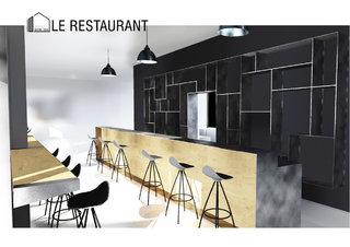 Le restaurant / The restaurant 1/3