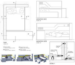 Le meuble étudiant / Student furniture 1/1