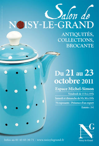 Salon antiquités brocante de Noisy-le-Grand 2011