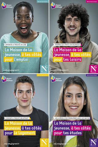 Identité Maison de la Jeunesse de Noisy-le-Grand