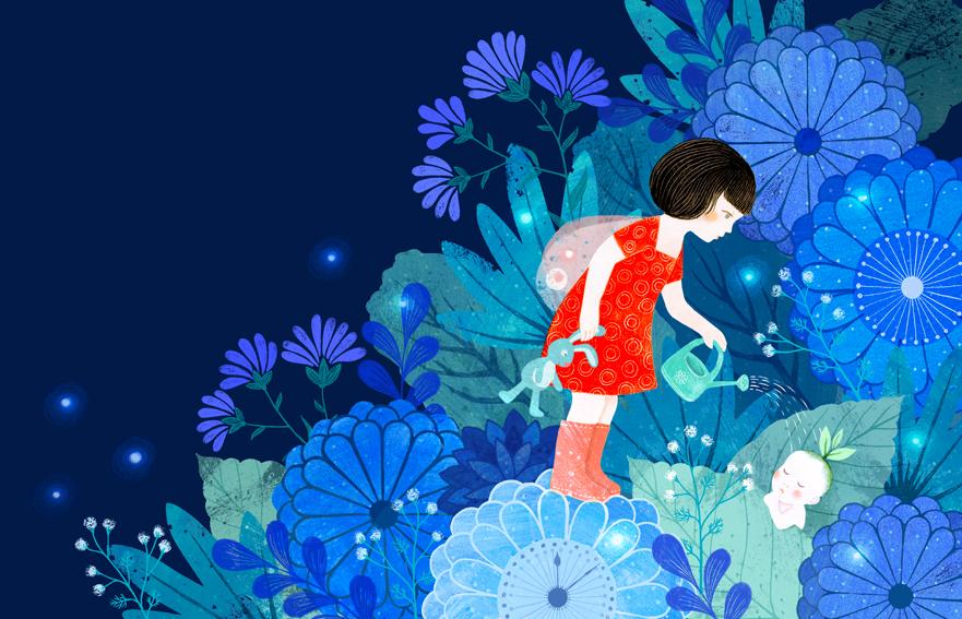 Illustrations Anja Klauss : Dustfolio