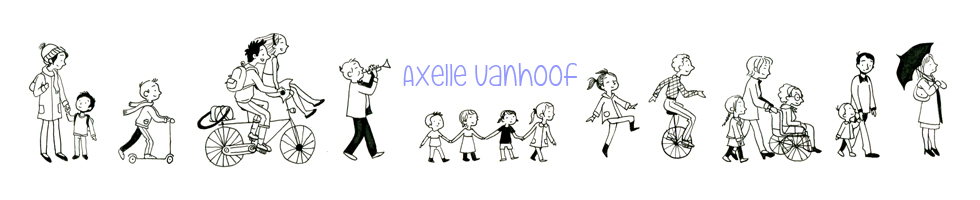 Axelle Vanhoof Illustration : Dustfolio