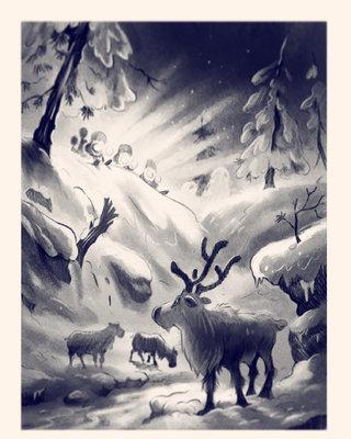Mission animaux- noir et blanc
