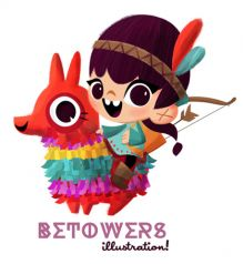 de betowers-illustrations Portfolio :Kids and fun