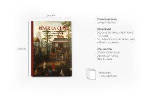 Maquette et design graphique du beau livre Rever la Chine