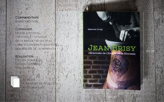 Maquette du livre Jean Brisy