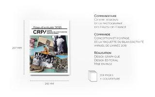 Maquette du bilan d'activité du CRP/