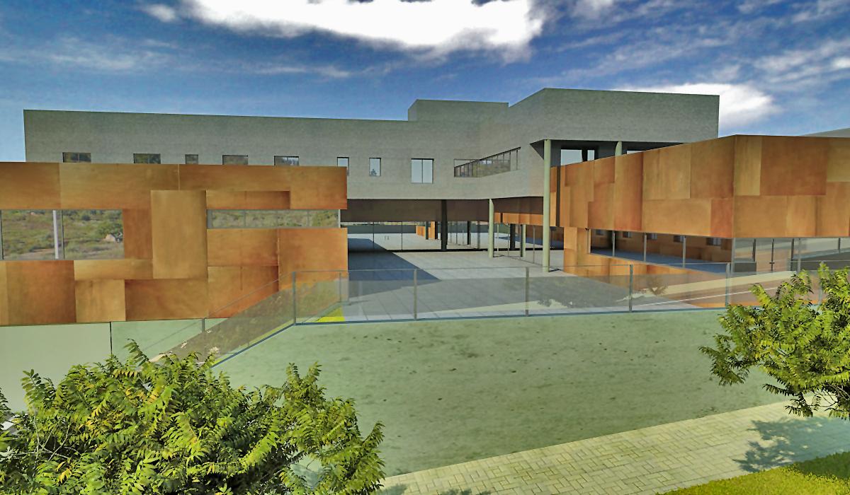 Edificio Aspainca I 43x25 cm