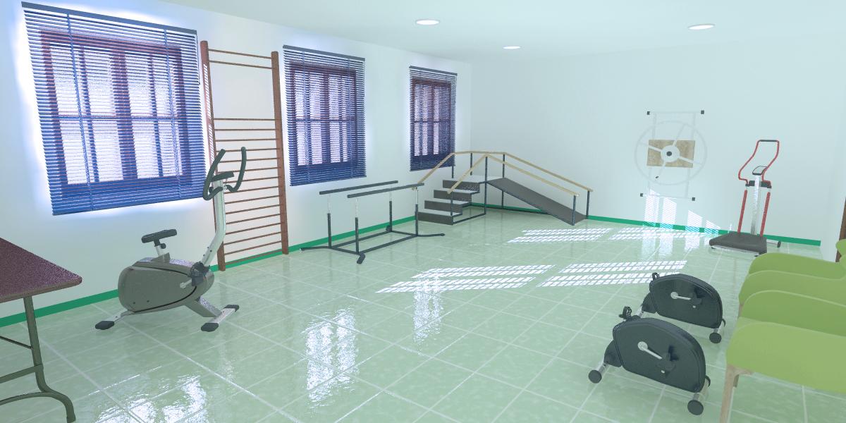 Salle kinesithérapie