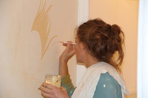 Camille Danjou Artiste Peintre décoratrice |  Portfolio
