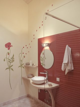 salle de bain décor et tadelakt