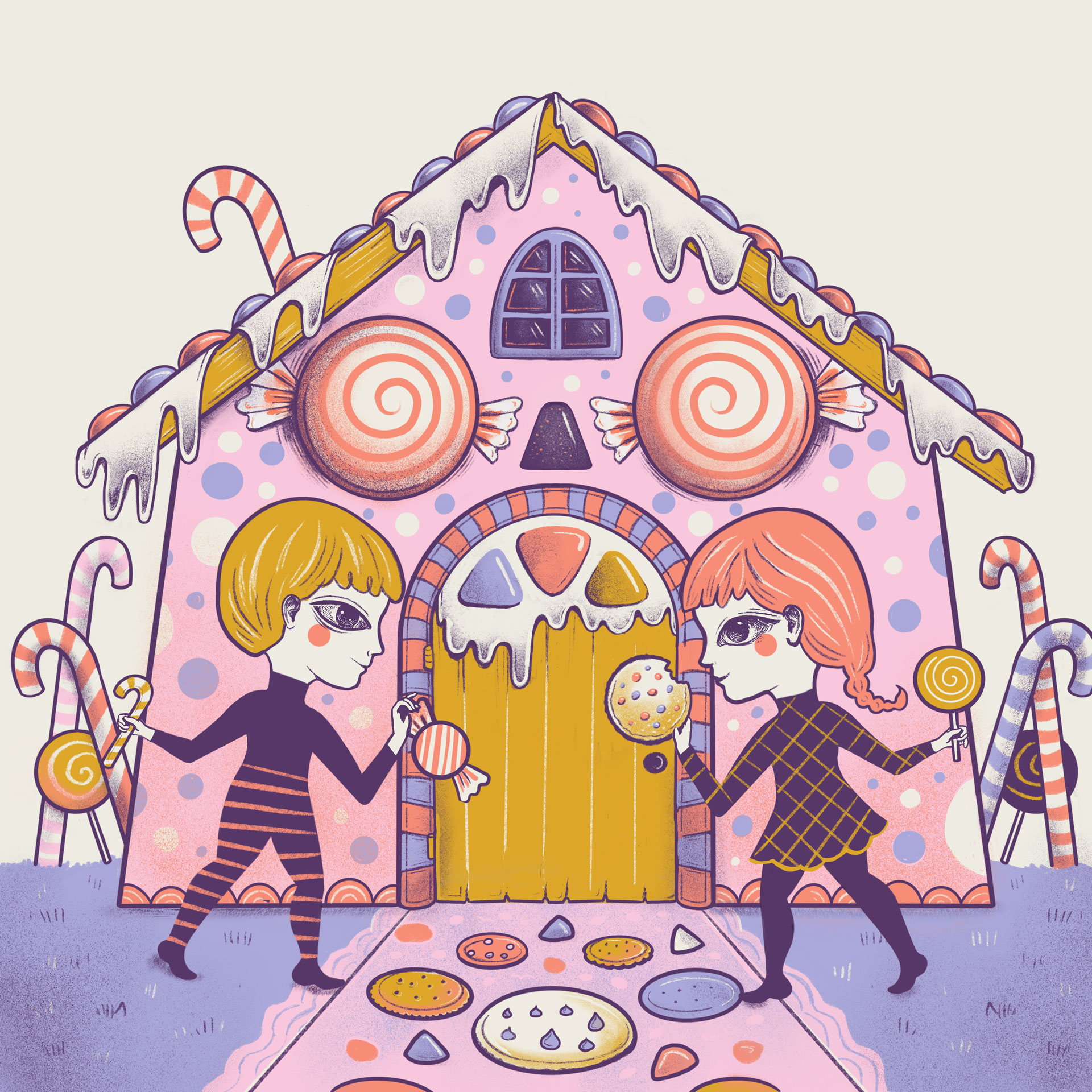 La maison en sucre
