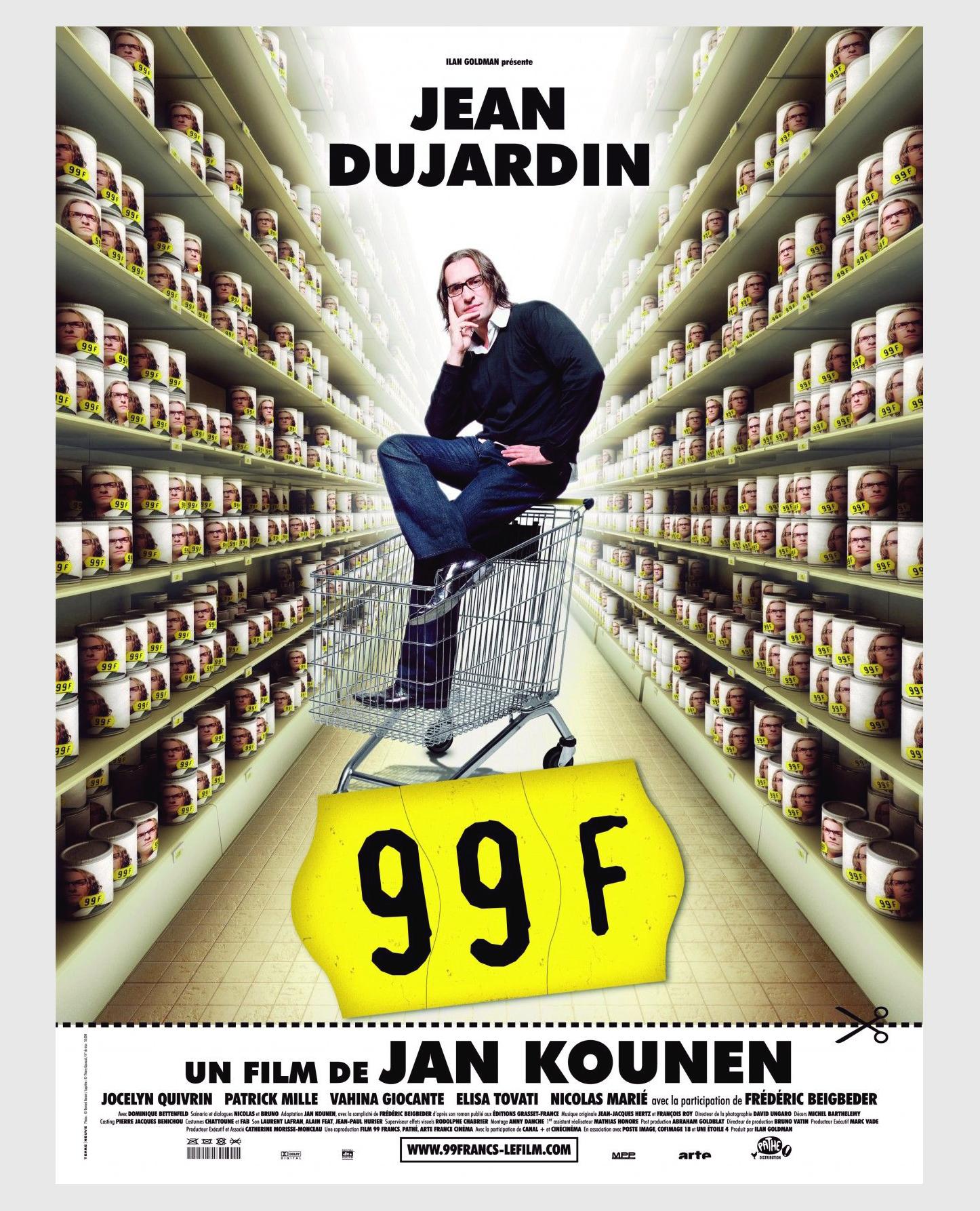 Film 99 Francs / Décors / Graphiste