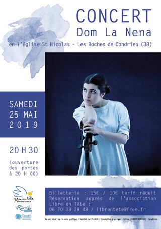 flyer Concert DOM LA NENA