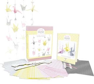 Boite créative - Mobile origami - Motifs et conception intégrale du produit