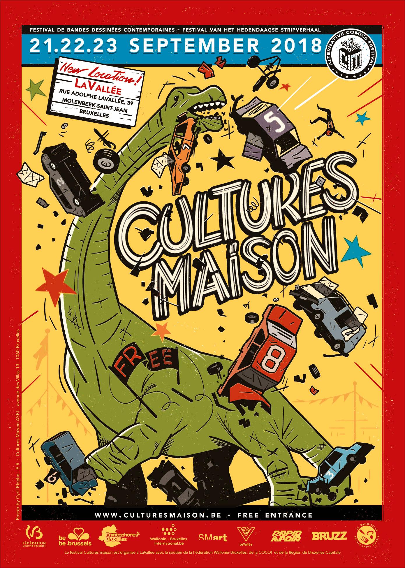 Cultures Maison :: Affiche 2018