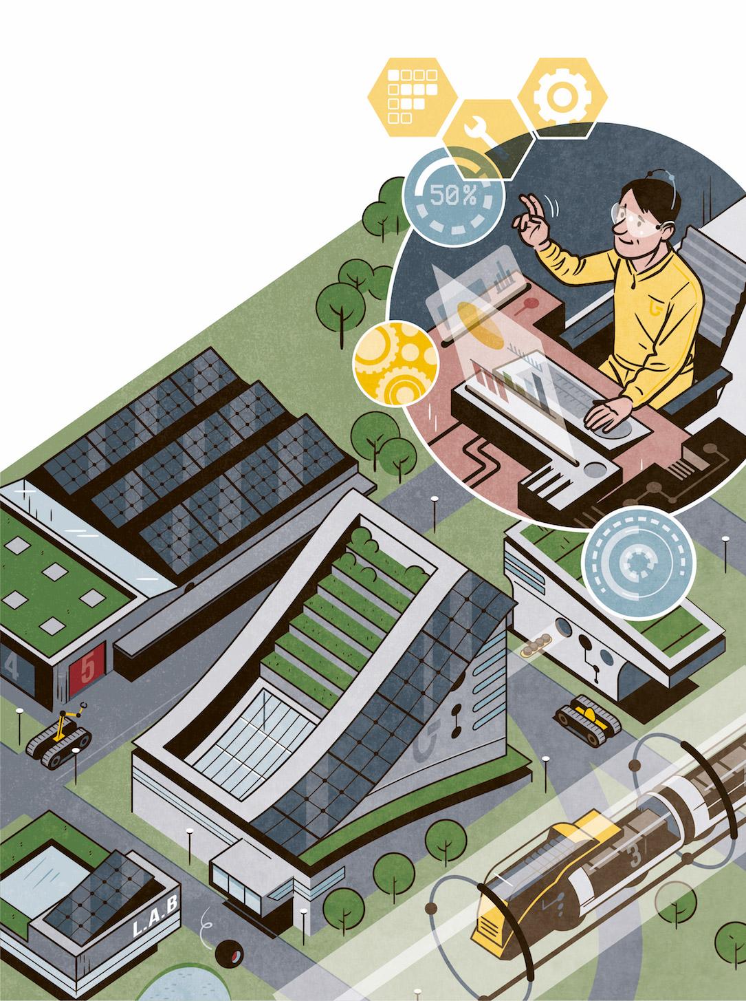 Dalkia mag :: L'industrie dessine son futur