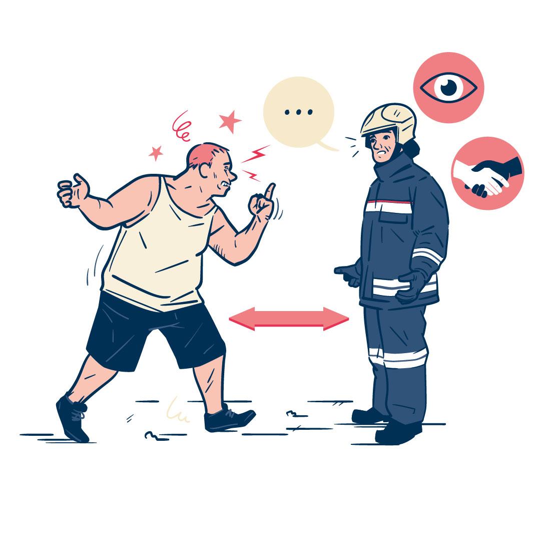 Mag Sapeurs-pompiers de France :: Réagir face à la violence