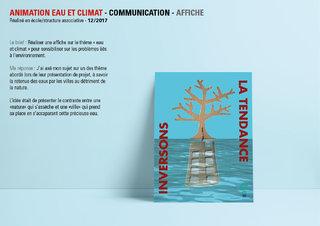 Affiche eau et climat
