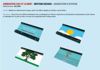 Animation eau et climat