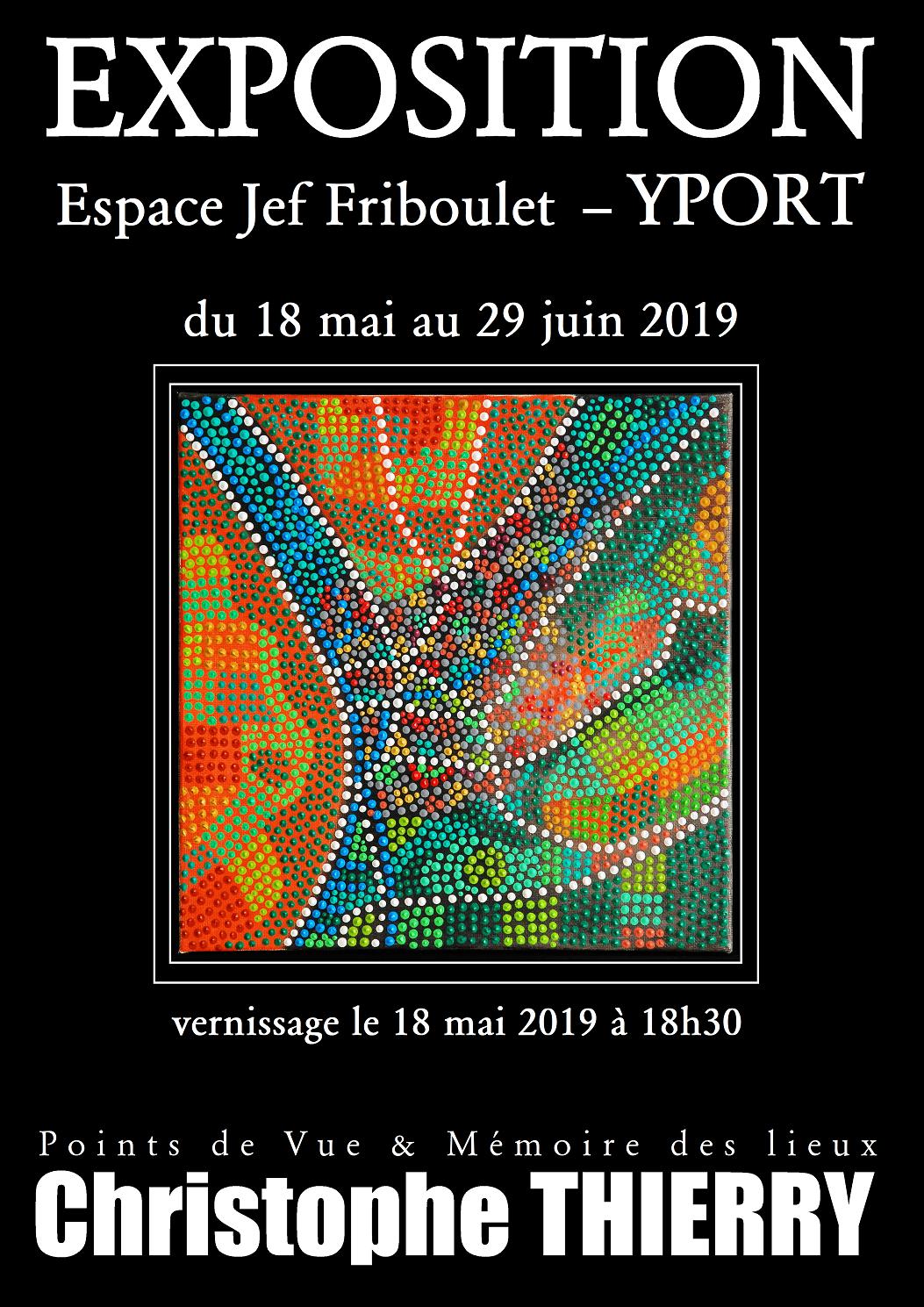 affiche exposition Yport