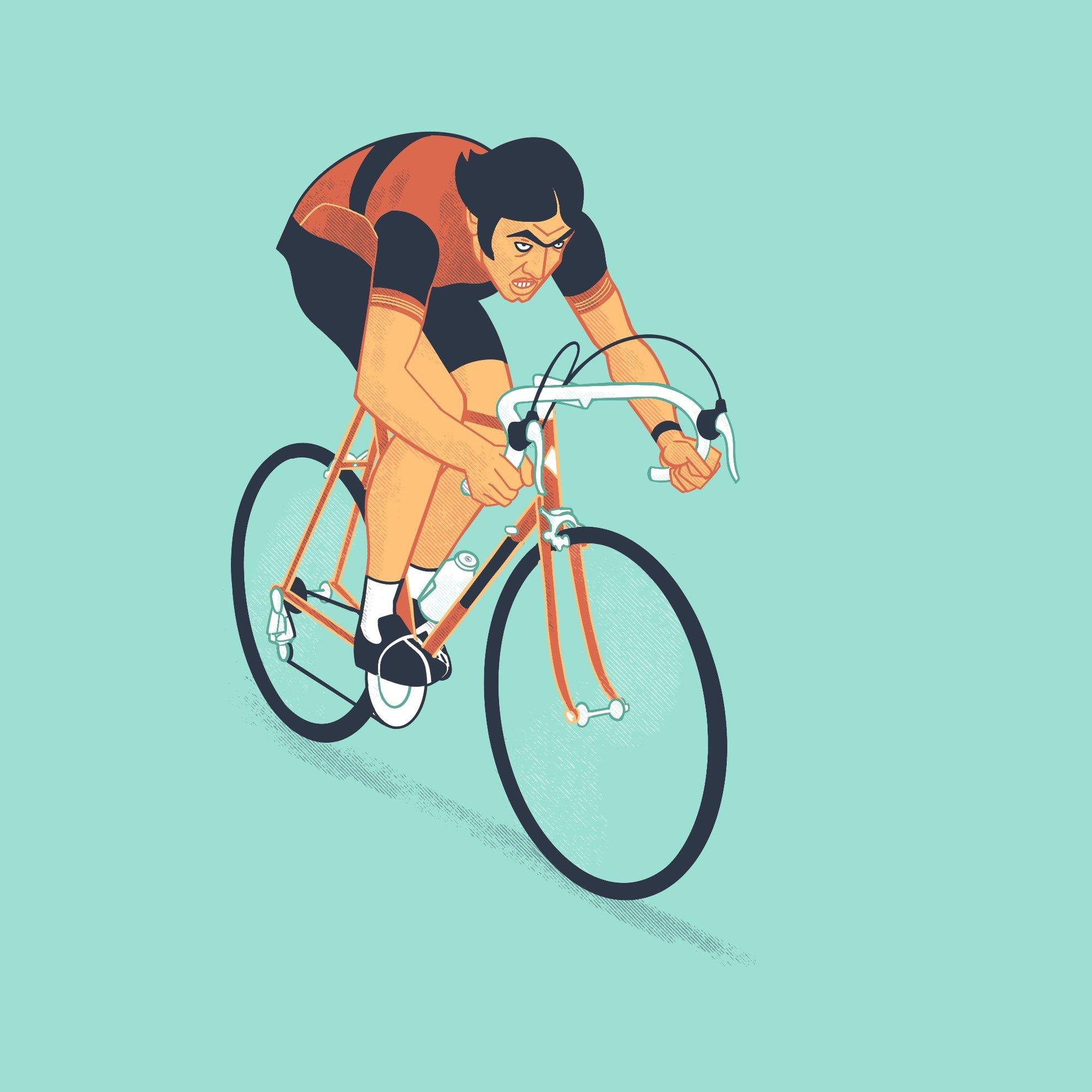 Travail personnel / Merckx