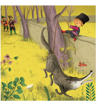 """Nouvelle image""""Pierre et le Loup"""" Hachette éditions"""